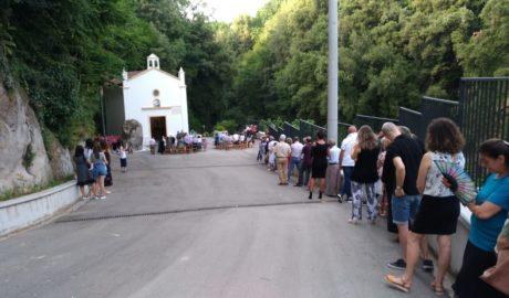 Casale di Carinola: Santuario S. Maria, incontro con le famiglie