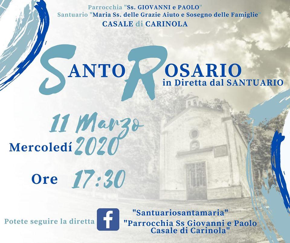 Santo Rosario(social) in diretta dal Santuario