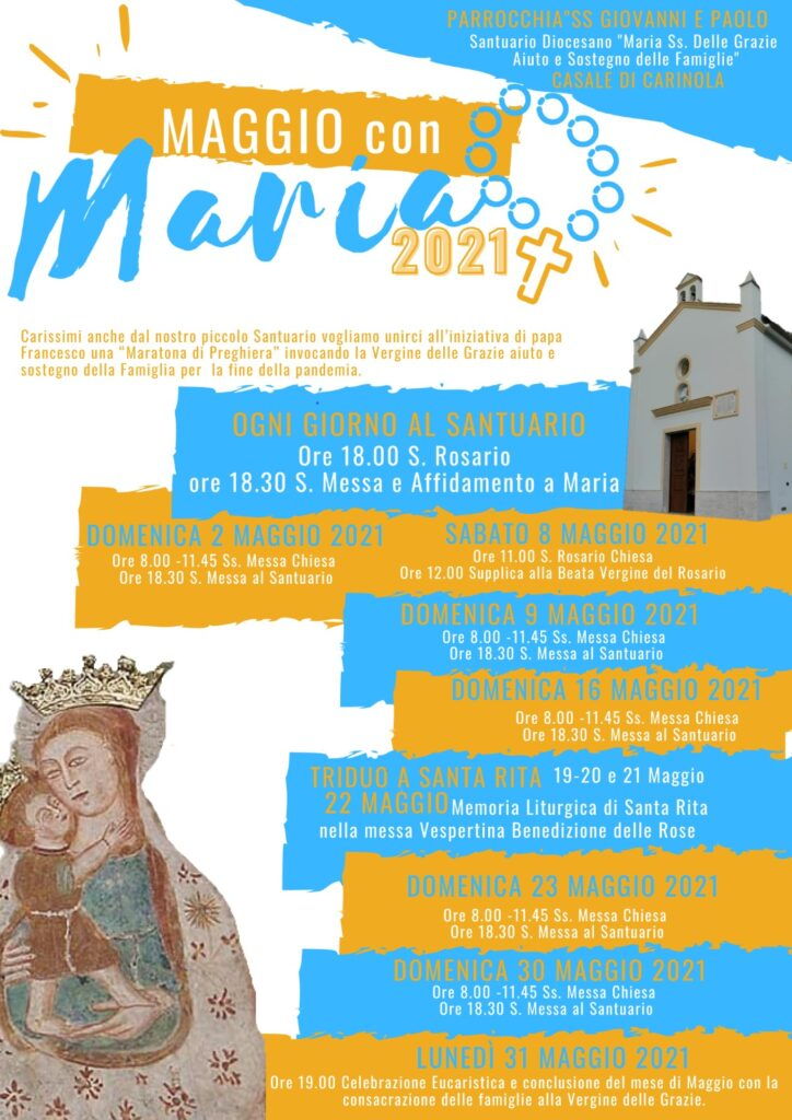 Maggio con Maria 2021